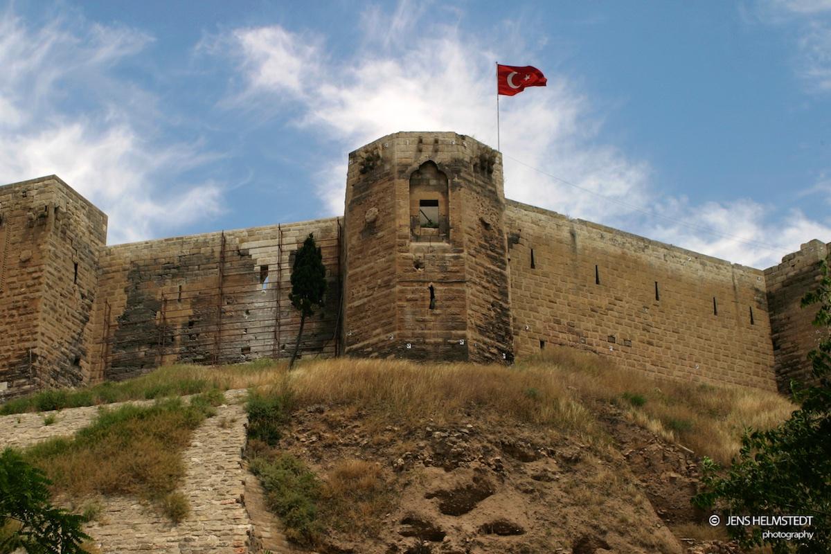 Burgruine in Gaziantep
