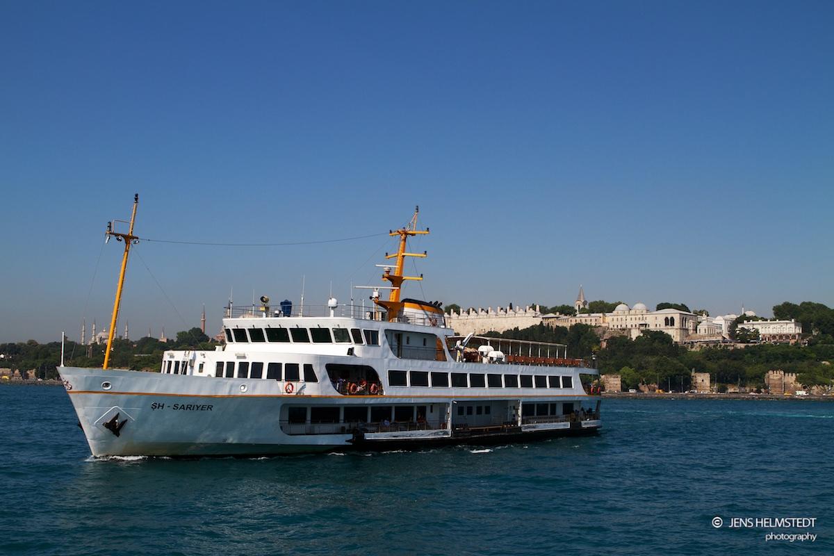Personenfähre auf dem Bosporus