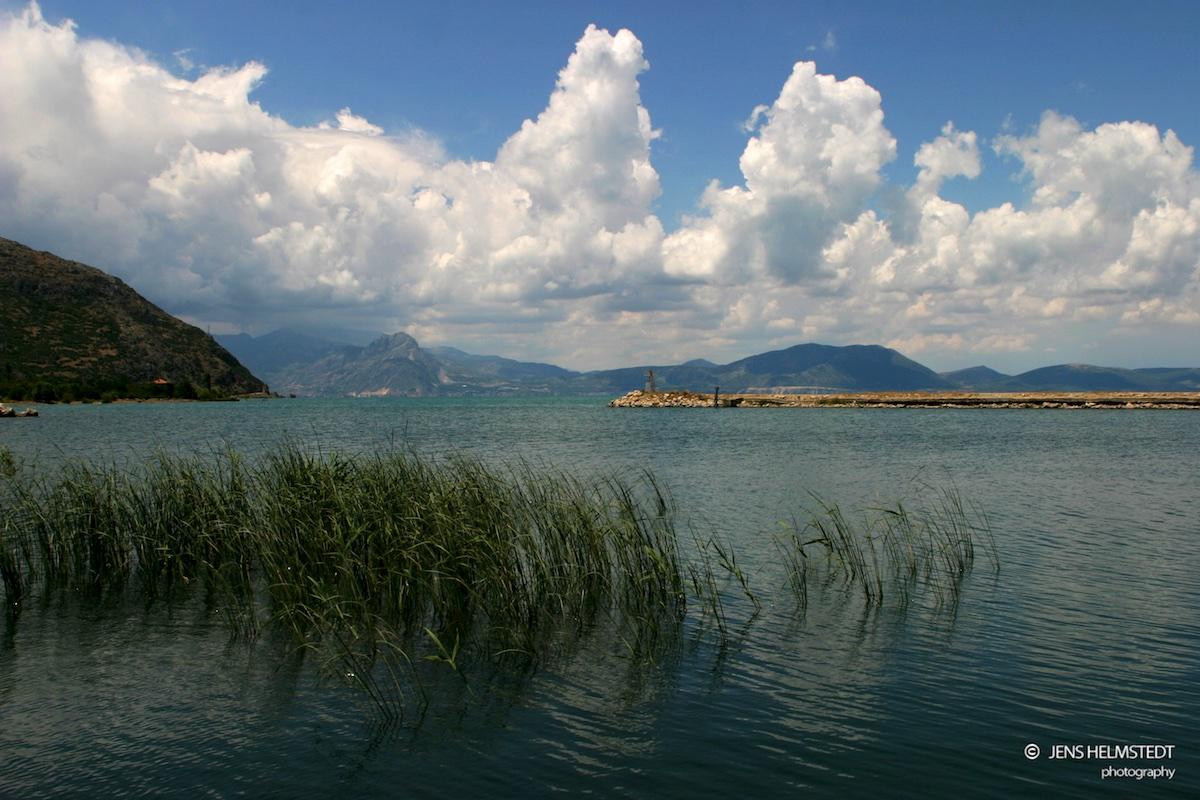 Der Eğirdir-See in der Provinz Isparta