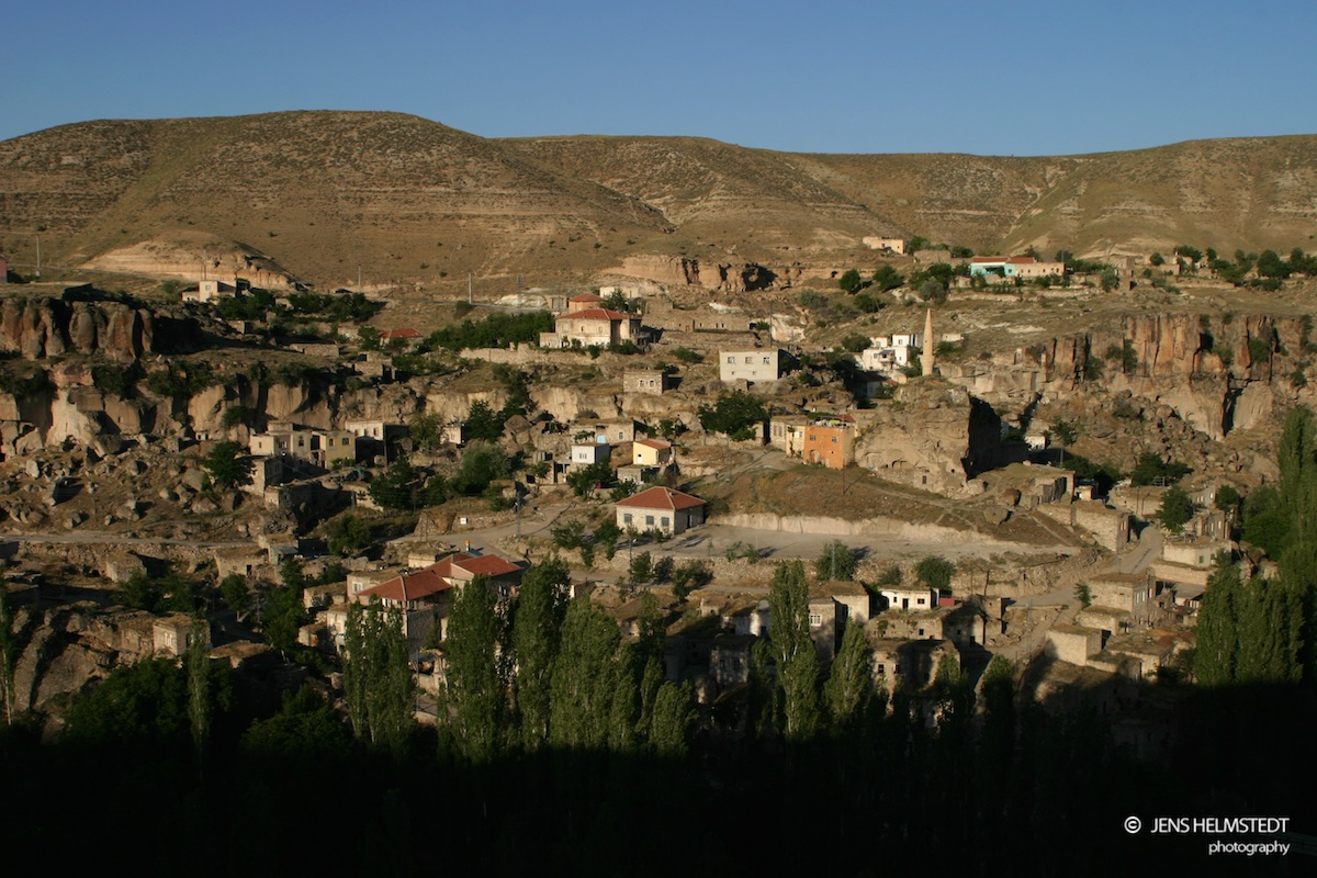 Dorf Selime nahe dem Ihlara Tal