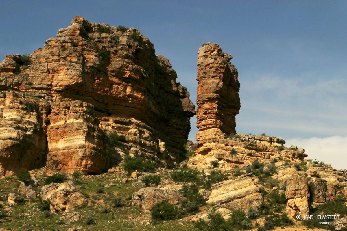 Felsformationen in der Region Karaman