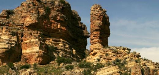 Landscape in the region of Karaman, Middle Anatolia, Turkey