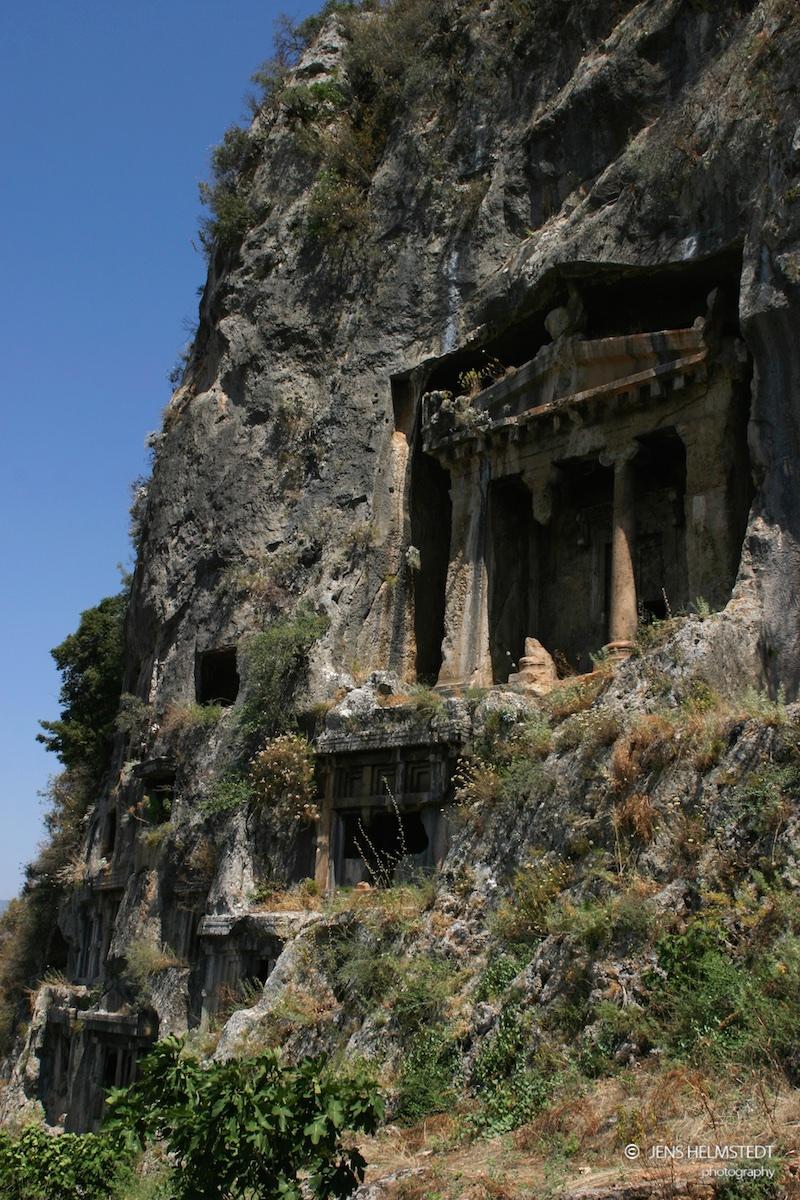 Lykischer Sargophag in Fethiye